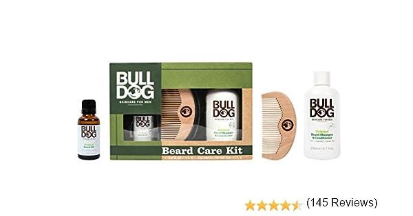 Bulldog Skincare for Men Pack - Kit Cuidado Barba, Aceite Barba + ...