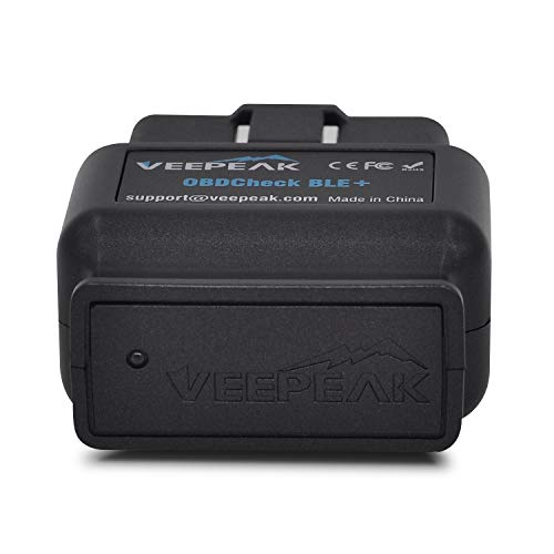 Veepeak OBDCheck BLE+ Bluetooth 4.0 OBD2 Scanner Code Reader for iOS & Android, Car Diagnostic Scan Tool for Check Engine Light Supports Year 1996 and Newer Vehicles in The US by Veepeak (Image #1)