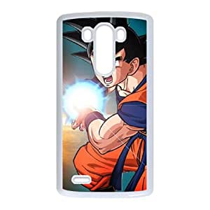 LG G3 Cell Phone Case Covers White Goku CHN Discount Phone Cases