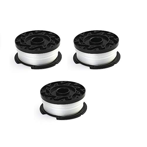HouseStyle 065 Line String Trimmer Replacement Autofeed Spool Complatible with Blacke+Decker AF-100 3 PCS