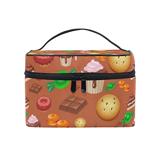 Halloween Cake Decorating Kit Large Travel Toiletry Bag Cosmetic Organizer for Woman Portable Bathroom Accessories Kit -