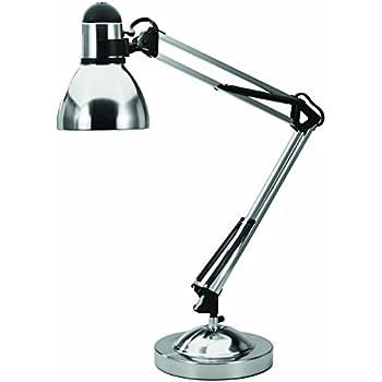 Amazon Com V Light Adjustable Desk Task Lamp Brushed Nickel
