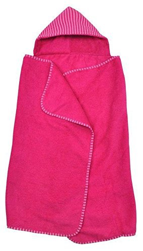 - green sprouts by i play. Brights Organic Terry Hooded Towel - Fuchsia