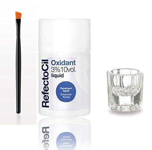 RefectoCil Oxidant 3% 10 VOL 3.38 oz + FREE Mixing Dish & Mascara Brush