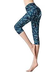 KEEPRONE Women's Swim Pants, UPF 50+ High Waisted Swimsuit Leggings, Long Swimming Pants