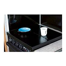 Camco 43554 RV Universal Fit Stove Top Cover (Black)