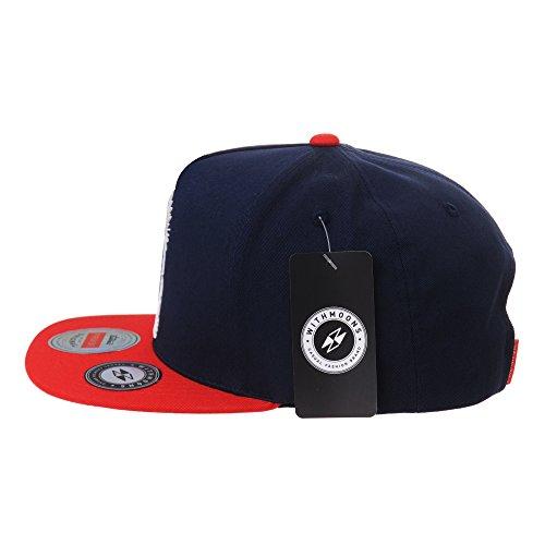Trucker Cap Armada Gorra béisbol Hip Hop de Illuminati Patch WITHMOONS Baseball Snapback de Hat AL2390 de Gorras Sombrero wTqC4Z