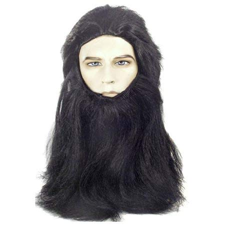 (Lacey Wigs Cave Man Wolfman Apes)