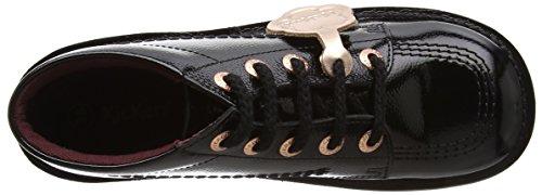 Fille black Bottes Noir Hi Kickers Classiques qwaBtxxX