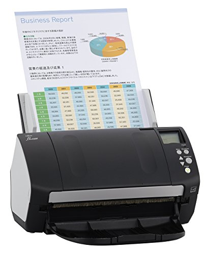 Fujitsu fi-7160 Color Duplex Document Scanner – Workgroup Series (Certified Refurbished)
