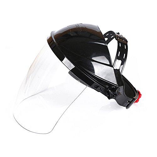 Face Shield Window - Highmoor Welding Helmet ARC Weld Welder Lens Grinding Mask, Plasma Cutting/Grinding, Safety Face Shield Clear Anti-Fog Window with Ratchet Headgear