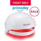iRestore Laser Hair Growth System - FDA Cleared for Men and Women - Female & Male Hair Loss Treatment for Thinning - Helmet Uses Regrowth Red Light Therapy Like Laser Comb, Cap, Hat & Brush Products