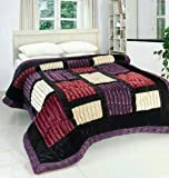 Tradeblush® Ultra Fiber Super Soft Double Bed Quilt for Heavy Winters and AC Attractive Packing (Wight 4kg Approx.) Color Assorted