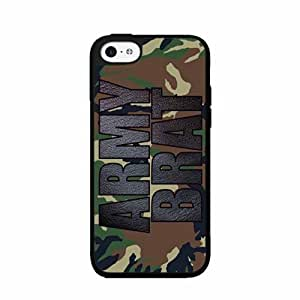 Army Brat Plastic Phone Case Back Cover iPhone 5 5s by lolosakes
