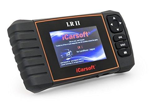 iCarsoft LR II Land Rover/Jaguar Obd Scanner Tool Multi Systems Abs Srs