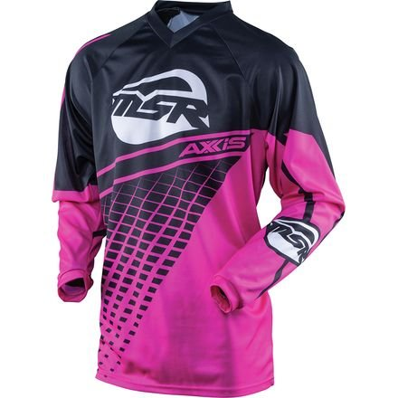 MSR Axxis Girls Youth Jersey, Distinct Name: Black/Pink, Gender: Girls, Primary Color: Black, Size: XL, Size Segment: Youth, 352828 ()