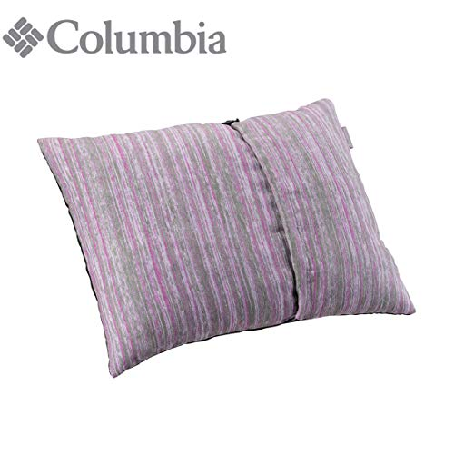 Columbia On-The-Go Compressible Camping & Travel Pillow (Soft Violet)