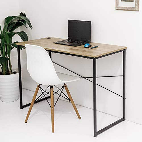 C-Hopetree Computer Desk Student Writing Craft Games Table Portable PC Laptop Note-Book Study Workstation Home Office -