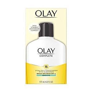 OLAY Complete UV Daily Moisturizer SPF 15, Sensitive Skin 6 oz