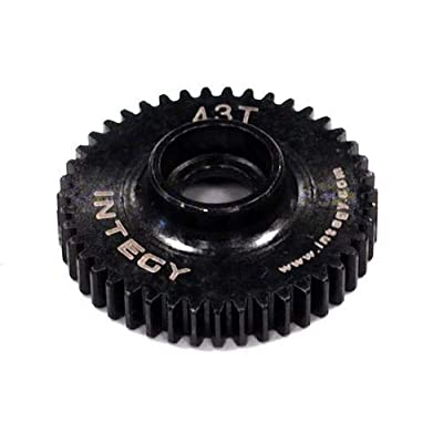 Integy RC Model Hop-ups T3490 43T Metal Spur Gear for 1/16 Traxxas E-Revo,Slash,Summit,Rally: Toys & Games