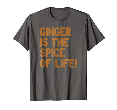 RedHead Ginger Tee Ginger Is the Spice of Life Distressed Fun T Shirt price tips cheap