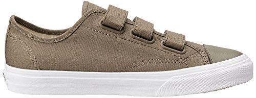 Vans Unisex Schuhe Stil 23 V (Canvas) Skate Sneakers Walnuss / True White