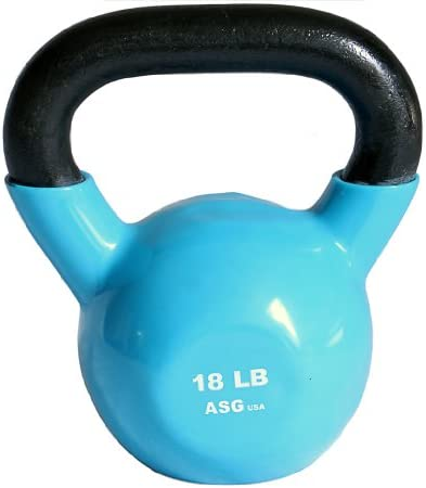 Ader Vinyl Kettlebell Choice of 5,8,10,12,15,18,20,25-50 Lbs
