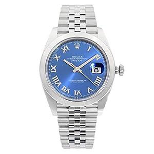 Best Epic Trends 41cHtpv4ITL._SS300_ Rolex Datejust 41 Blue Dial Automatic Men's Watch 126300BLSJ