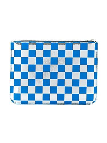 Mujer Comme Plata Garçons Billetera azul Cuero Sa5100gbblue Des FAPA4xq8
