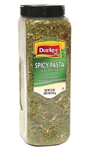 Durkee Pasta Seasoning, Spicy, 12-Ounce (Pack of 6) by Durkee