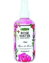 De La Cruz Rose Water Spray 8 ounces