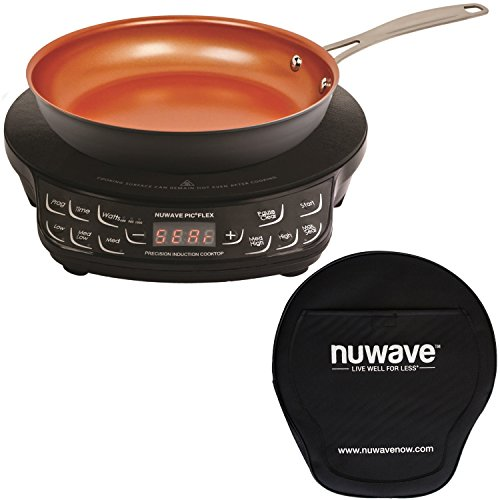 NuWave Compact Induction Cooktop Anodized