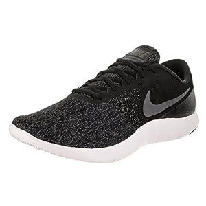 Nike Men's Flex Contact Running Shoe, Black/Dark Grey-Anthracite-White, 13