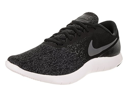 Nike Flex Contact Sz 13 Mens Running Black Dark Grey-Anthracite-White Shoes