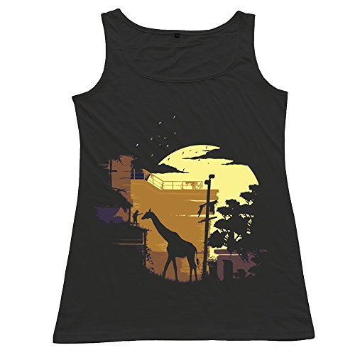 Custom The Last Of Us Joel Ellie Women's Vest Black Size L