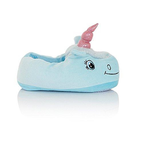 de Doux Animal 41 Bleu peluche Pantoufles amp;Melody 36 Noël 3D Mystery Fête Chaussures Chaussures licorne Antidérapant Taille en Cosplay Chaussons chaussures libre EU Halloween fwXq4PE