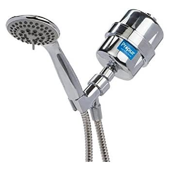 Propur Shower Filter ProMax Chrome Plus with Massage Head and 48