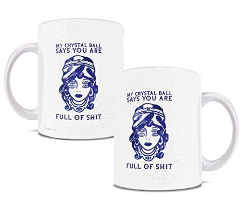 Halloween - Fortune Teller Crystal Ball - Funny Coffee or Tea Mug - Perfect for gifting- by Trend Setters -