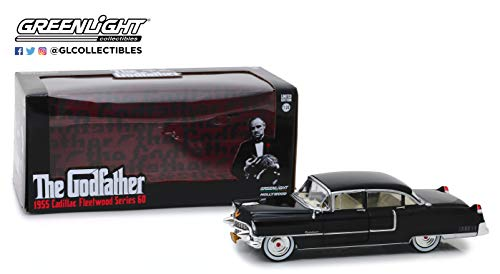Greenlight 84091 1: 24 The Godfather (1972) - 1955 Cadillac Fleetwood Series 60 - New Tooling