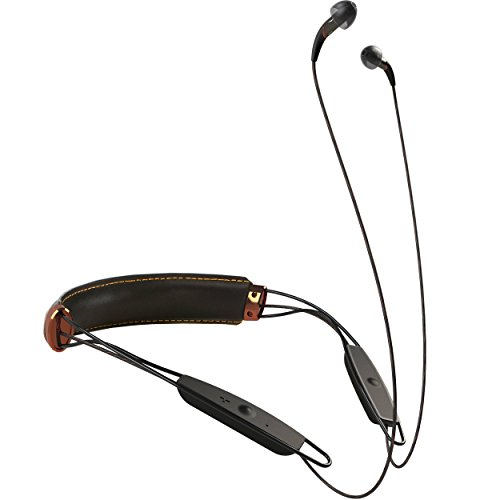Klipsch X12 Bluetooth Neckband Headphones (Black Leather)