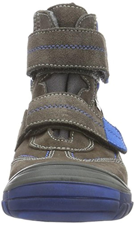 Richter Kinderschuhe Linz, Boys' Warm-Lined Short-Shaft Boots and Bootees, Grey (pebble/lagoon 6611),(26 EU)