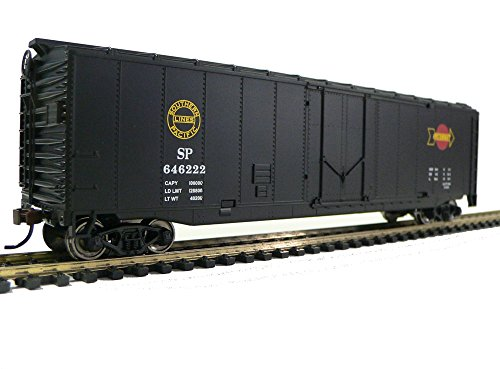 ady to Run Southern Pacific Boxcar, Black/Red/Yellow (Train Car Boxcar)