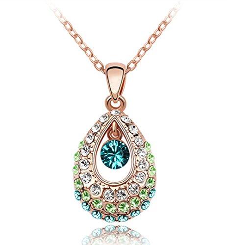 Queenees Necklace Swarovski Elements Crystals product image