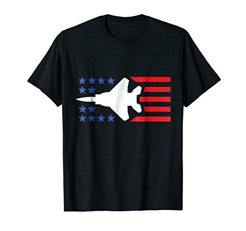 Fighter Jet F15 Patriotic T Shirt