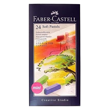 Faber Castell Estuche de cartón con tizas mini multicolor