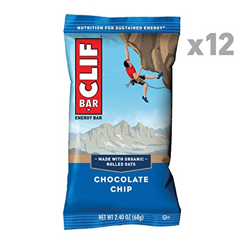 CLIF BAR - Energy Bars - Chocolate Chip - (2.4 Ounce Protein Bars, 12 Count) best to buy