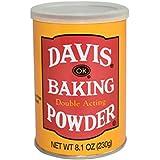 Davis Double Acting Baking Powder 8.1 oz (Pack of 12)