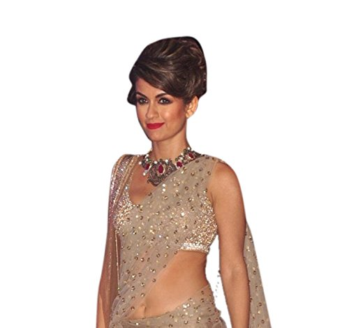 Indian-Designer-Silver-Fbric-Heavy-Silk-Blouse-Heavy-Work-Inner-Row-Silk-Bollywood-Lehenga-Rk-127