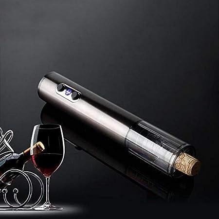 HH- Abrebotellas Abridor de Vino Eléctrico, Camareros Amigo, Sacacorchos Profesional, Abridor Automático de Botellas de Vino, Acero Inoxidable para El Hogar, Restaurante, Fiesta, como Regalo