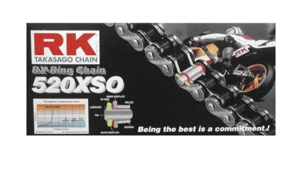 Amazon.com: New RK 520XSO Chain 120 Link for Beta RR 250 2T 13-17, RR 250 4T 05-07, RR 300 2T 13-17, RR 350 4T 11-17, RR 390 4T 15-17, RR 400 4T 05-14, ...
